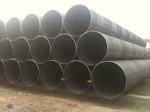 EN10219 spiral welded pipe for structure usage