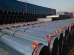 Hot-dipped Galvanized spiral welded pipe