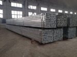 Hot-dipped Galvanized square tube
