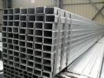 Hot dipped galvanized rectangular steel pipes/hot dipped galvanized rectangular steel tubes